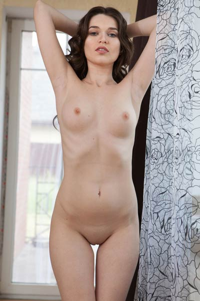 Model Serena Wood  in Presenting Serena Wood