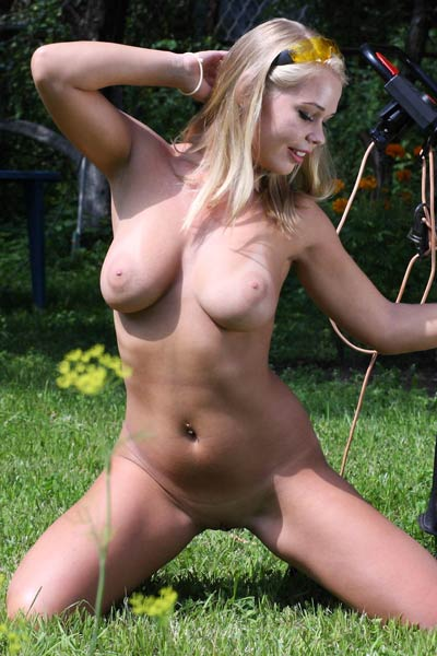 Model Sarika A in The Mower