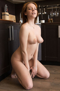 Model Candy Red in Hot In The Kitchen