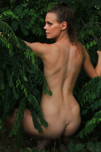 Model Paullina in The Jungle